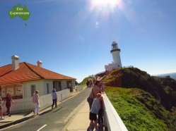 Cape Byron Lighthouse Walk, always take the high road.